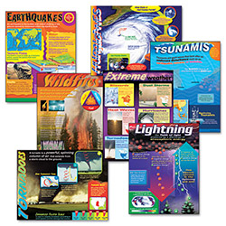 Trend Enterprises Learning Chart Combo Pack, 7/Pack
