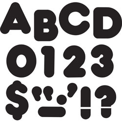 "Trend Enterprises Casual Style 2"" Ready Letters, Black"