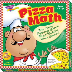 Trend Enterprises Pizza Math Game for Ages 4 and Up