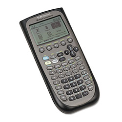 Texas Instruments TI89TITANIUM Programmable Graphing Calculator, 160 x 100 Pixel Display, 2.7MB