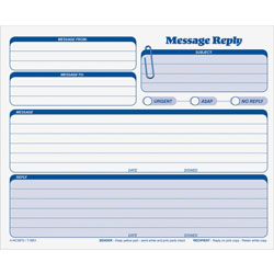TOPS Rapid Letter Message Form, Triplicate, 8 1/2x7, 50 Sets/Pack