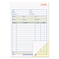 TOPS Carbonless Sales Order Book, Duplicate Style, 50 Sets per Book