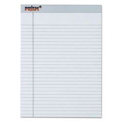 TOPS Legal Rule Writing Pads, Letter, Pastel Gray, 50 Sheets/Pad, 12/Pack