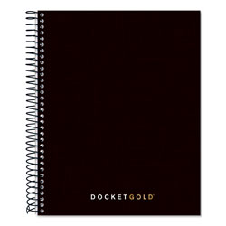 TOPS Project Planner with Paperboard Cover, 8 1/2 x 6 3/4, Black