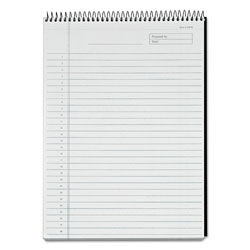 TOPS Diamond Top Wire Legal Rule White Planning Pad, 8 1/2x11 3/4, 60 Sheets