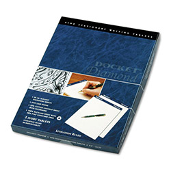 TOPS Diamond Litigation Rule Pads, 8 1/2x11 3/4, Ivory, 2 50 Sheet Pads/Pack