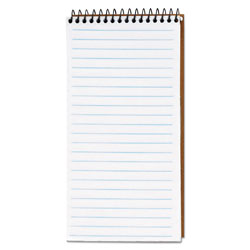 TOPS Gregg Ruled Spiral Reporter's Notebook, 4 x 8, 70 White Sheets