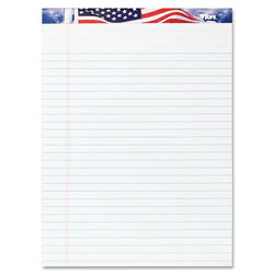 "TOPS Writing Tablet, American Pride, Perforated, 8 1/2""x11 3/4"""