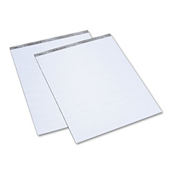TOPS Recycled 27 x 34 Easel Pad with 20 lb. White Paper, 35 Sheets/Pad, 2 Pads/Carton