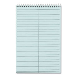 TOPS 6x9 Gregg Ruled Steno Notebook, 80 Perforated Blue Sheets/Book, 4 Books/Pack