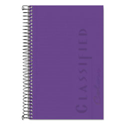 TOPS Classified Orchid Cover Notebook, 8-1/2 x 5-1/2, Narrow Rule, 100 Sheets