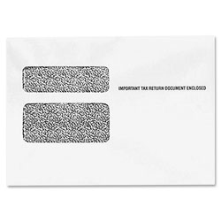 "TOPS Envelope For W2 Form, Double Window, 9 1/2""x5 5/8"", 500Count"