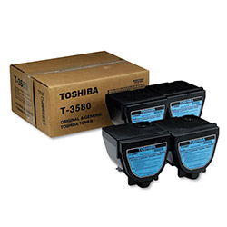 Toshiba Black Copier Toner Cartridge for Model DP 3580
