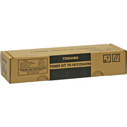 Toshiba Toner Cartridge for Models DP120F, 125F Plain Paper Fax Machine, Black