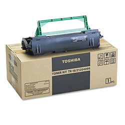 Toshiba Toner Cartridge for Models DP80F, 85F Plain Paper Fax Machine, Black