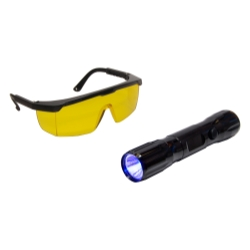 Tracer Dual-Max Dual Head Flashlight with Blue/White Light