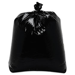 "Trinity Black Trash Bags, 15 Gallon, 0.9 Mil, 24"" x 32"", Case of 500"
