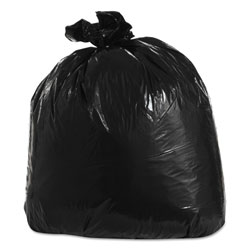 "Trinity Black Trash Bags, 33 Gallon, 1.3 Mil, 33"" x 39"", Case of 100"