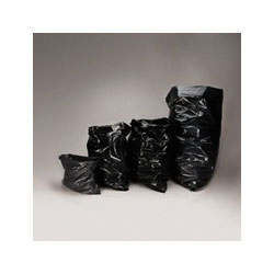 "Trinity Black Trash Bags, 55 Gallon, 1.7 Mil, 36"" x 58"", Case of 100"