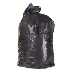 "Trinity Black Trash Bags, 45 Gallon, 1.3 Mil, 40"" x 46"", Case of 100"