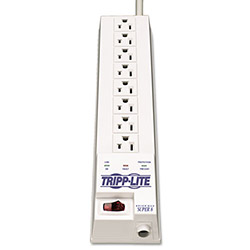 Tripp Lite Surge Suppressor, 6 Outlets, 8ft Cord, 1260 Joules