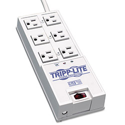 Tripp Lite TR-6 Surge Suppressor, 6 Outlets, 6 ft Cord