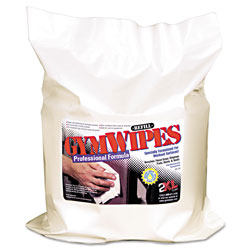 2XL Antibacterial Gym Wipes Refill, 6 x 8, Unscented, 700/Pack, 4 Packs/Carton
