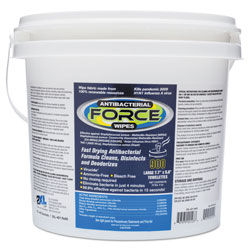 2XL CareWipes Antibacterial Force, 8 x 6, White, 900 Wipes/Bucket, 2 Buckets/Carton