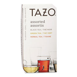 TAZO® Assorted Tea Bags, Three Each Flavor, 24 Tea Bags/Box