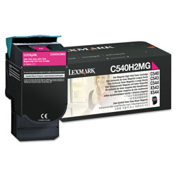 Lexmark High Capacity Magenta Toner Cartridge