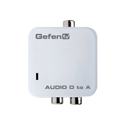 Gefen Digital Audio to Analog Adapter coaxial/optical digital audio converter