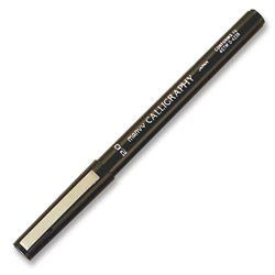 Uchida of America Calligraphy Marker, Fine Point, 2.0mm, Green