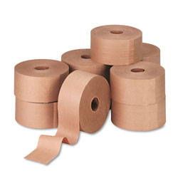 "United Reinforced Gummed Kraft Sealing Tape, 3"" x 450 ft."