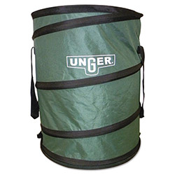 Unger Green Recycling Bin, 30 Gallon