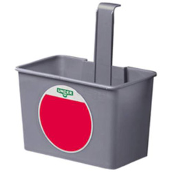 Unger 6 Quart SmartColor Side Bucket, Gray