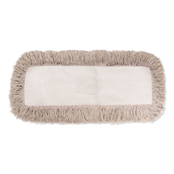 Boardwalk Industrial Dust Mop Head, Hygrade Cotton, 60w x 5d, White