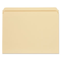 Universal Manila File Folders, 1 Ply Top Tabs, Straight Cut, Letter Size, 100/Box