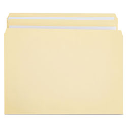 Universal Manila File Folders, 2 Ply Top Tabs, Straight Cut, Letter Size, 100/Box