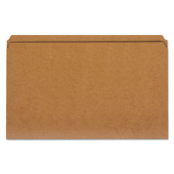 Universal Legal Size Brown Kraft File Folders, 2 Ply Top Tabs, Straight Cut, 100/Box
