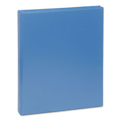 "Universal Deluxe 1/2"" View Binder, Blue"