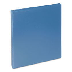 "Universal Deluxe 1"" View Binder, Blue"