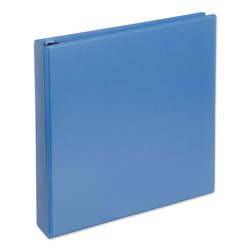 "Universal Deluxe 1 1/2"" View Binder, Blue"