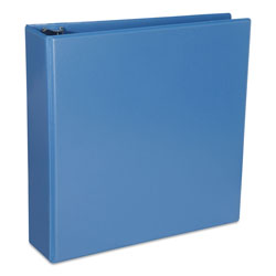 "Universal Deluxe 2"" View Binder, Blue"