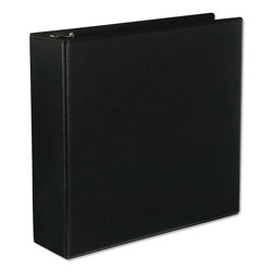 "Universal Economy 3"" View Binder, Black"