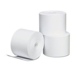 Universal Thermal Paper for Receipt Printers, 2-1/4in x 165' Roll, 3/pack