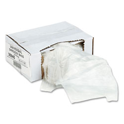 Universal 35945 Recycled/Recyclable 3 Ply Shredder Bags, 15w x 11d x 30h, 100 Bags/Carton
