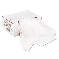 Universal 35947 Recycled/Recyclable 3 Ply Shredder Bags, 13w x 13d x 28h, 100 Bags/Carton