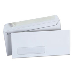 Universal Pull & Seal Business Envelope, #10, Window, White, 500/Box