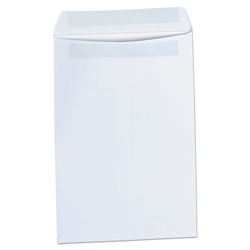 Universal Self-Seal Catalog Envelope, 6 x 9, White, 100/Box
