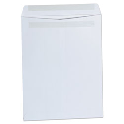 Universal Self-Seal Catalog Envelope, 10 x 13, White, 100/Box